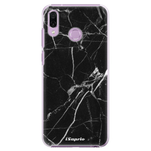 Plastové pouzdro iSaprio Black Marble 18 na mobil Honor Play
