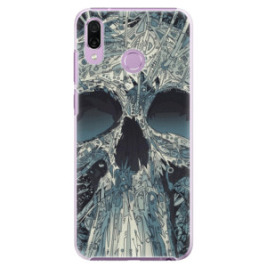 Plastové pouzdro iSaprio Abstract Skull na mobil Honor Play