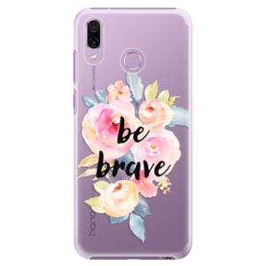 Plastové pouzdro iSaprio Be Brave na mobil Honor Play