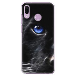 Plastové pouzdro iSaprio Black Puma na mobil Honor Play