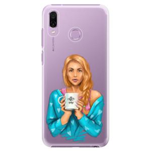 Plastové pouzdro iSaprio Coffee Now Zrzka na mobil Honor Play