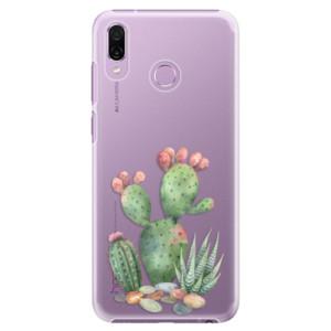 Plastové pouzdro iSaprio Kaktusy 01 na mobil Honor Play