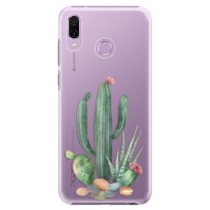 Plastové pouzdro iSaprio Kaktusy 02 na mobil Honor Play