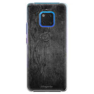 Plastové pouzdro iSaprio Black Wood 13 na mobil Huawei Mate 20 Pro