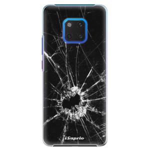 Plastové pouzdro iSaprio Broken Glass 10 na mobil Huawei Mate 20 Pro