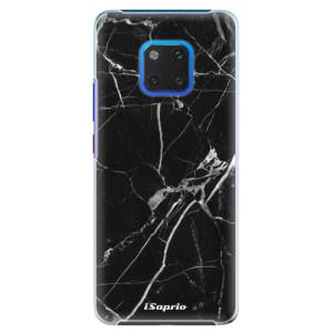 Plastové pouzdro iSaprio Black Marble 18 na mobil Huawei Mate 20 Pro