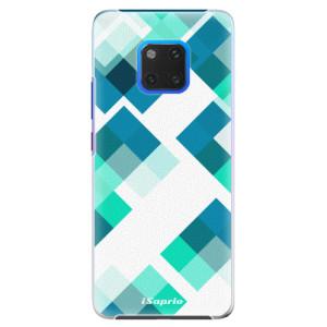 Plastové pouzdro iSaprio Abstract Squares 11 na mobil Huawei Mate 20 Pro