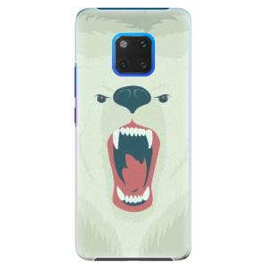 Plastové pouzdro iSaprio Naštvanej Medvěd na mobil Huawei Mate 20 Pro