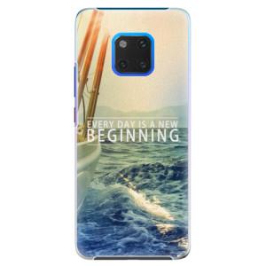 Plastové pouzdro iSaprio Beginning na mobil Huawei Mate 20 Pro