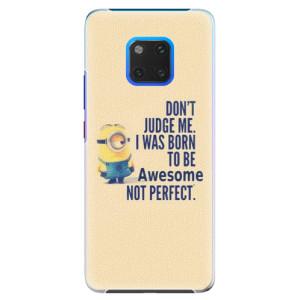 Plastové pouzdro iSaprio Be Awesome na mobil Huawei Mate 20 Pro