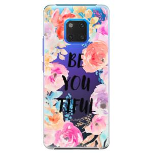 Plastové pouzdro iSaprio BeYouTiful na mobil Huawei Mate 20 Pro