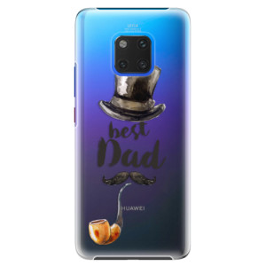 Plastové pouzdro iSaprio Best Dad na mobil Huawei Mate 20 Pro