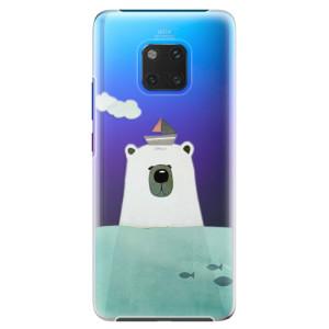 Plastové pouzdro iSaprio Medvěd s Lodí na mobil Huawei Mate 20 Pro