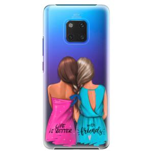 Plastové pouzdro iSaprio Best Friends na mobil Huawei Mate 20 Pro