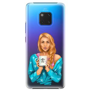 Plastové pouzdro iSaprio Coffee Now Zrzka na mobil Huawei Mate 20 Pro