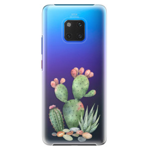 Plastové pouzdro iSaprio Kaktusy 01 na mobil Huawei Mate 20 Pro