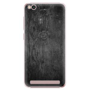 Plastové pouzdro iSaprio Black Wood 13 na mobil Xiaomi Redmi 5A