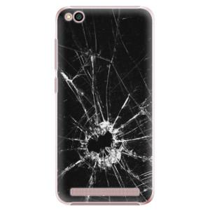 Plastové pouzdro iSaprio Broken Glass 10 na mobil Xiaomi Redmi 5A