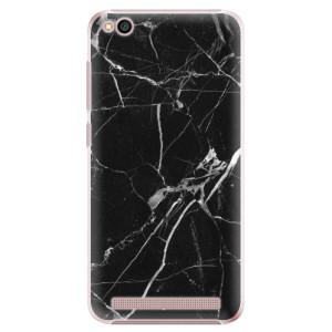 Plastové pouzdro iSaprio Black Marble 18 na mobil Xiaomi Redmi 5A