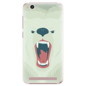 Plastové pouzdro iSaprio Naštvanej Medvěd na mobil Xiaomi Redmi 5A