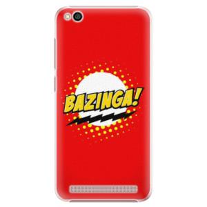 Plastové pouzdro iSaprio Bazinga 01 na mobil Xiaomi Redmi 5A