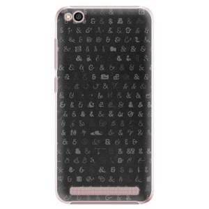 Plastové pouzdro iSaprio Ampersand 01 na mobil Xiaomi Redmi 5A