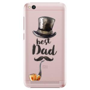 Plastové pouzdro iSaprio Best Dad na mobil Xiaomi Redmi 5A