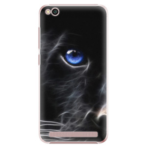 Plastové pouzdro iSaprio Black Puma na mobil Xiaomi Redmi 5A
