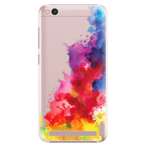 Plastové pouzdro iSaprio Color Splash 01 na mobil Xiaomi Redmi 5A