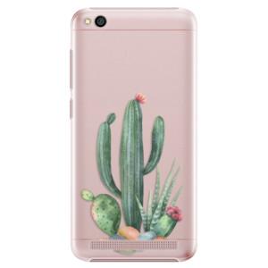 Plastové pouzdro iSaprio Kaktusy 02 na mobil Xiaomi Redmi 5A