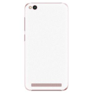 Plastové pouzdro iSaprio 4Pure bílé na mobil Xiaomi Redmi 5A