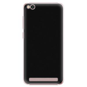 Plastové pouzdro iSaprio 4Pure černé na mobil Xiaomi Redmi 5A