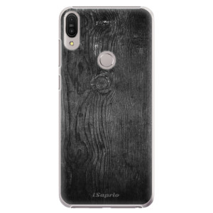 Plastové pouzdro iSaprio Black Wood 13 na mobil Asus Zenfone Max Pro ZB602KL