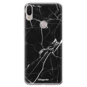 Plastové pouzdro iSaprio Black Marble 18 na mobil Asus Zenfone Max Pro ZB602KL