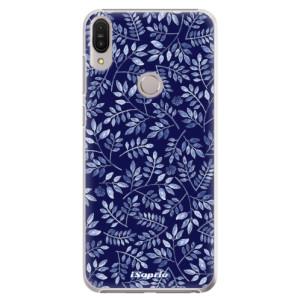 Plastové pouzdro iSaprio Blue Leaves 05 na mobil Asus Zenfone Max Pro ZB602KL