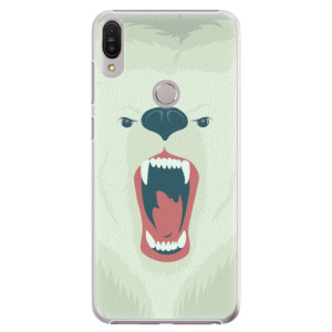 Plastové pouzdro iSaprio Naštvanej Medvěd na mobil Asus Zenfone Max Pro ZB602KL