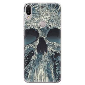Plastové pouzdro iSaprio Abstract Skull na mobil Asus Zenfone Max Pro ZB602KL