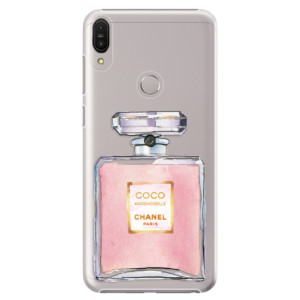 Plastové pouzdro iSaprio Chanel Rose na mobil Asus Zenfone Max Pro ZB602KL