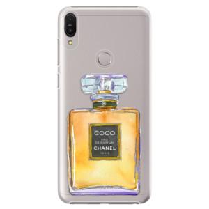 Plastové pouzdro iSaprio Chanel Gold na mobil Asus Zenfone Max Pro ZB602KL