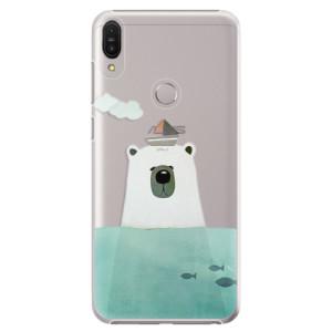 Plastové pouzdro iSaprio Medvěd s Lodí na mobil Asus Zenfone Max Pro ZB602KL