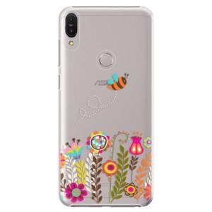 Plastové pouzdro iSaprio Včelka Pája 01 na mobil Asus Zenfone Max Pro ZB602KL
