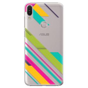 Plastové pouzdro iSaprio Barevné Pruhy 03 na mobil Asus Zenfone Max Pro ZB602KL