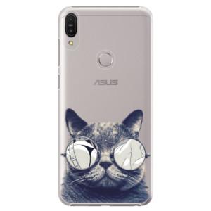 Plastové pouzdro iSaprio Šílená Číča 01 na mobil Asus Zenfone Max Pro ZB602KL