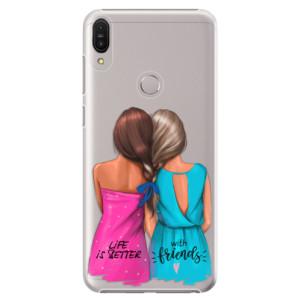 Plastové pouzdro iSaprio Best Friends na mobil Asus Zenfone Max Pro ZB602KL