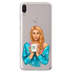 Plastové pouzdro iSaprio Coffee Now Zrzka na mobil Asus Zenfone Max Pro ZB602KL