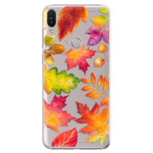 Plastové pouzdro iSaprio Podzimní Lístečky na mobil Asus Zenfone Max Pro ZB602KL