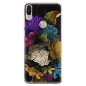 Plastové pouzdro iSaprio Temné Květy na mobil Asus Zenfone Max Pro ZB602KL