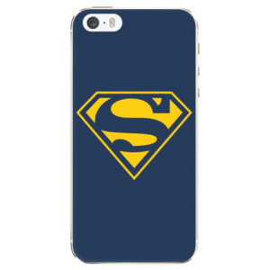 Silikonové pouzdro iSaprio Superman 03 na mobil Apple iPhone 5/5S/SE