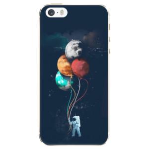 Silikonové pouzdro iSaprio (mléčně zakalené) Balónky 02 na mobil Apple iPhone 5/5S/SE