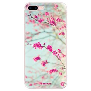 Silikonové pouzdro iSaprio (mléčně zakalené) Blossom 01 na mobil Apple iPhone 7 Plus
